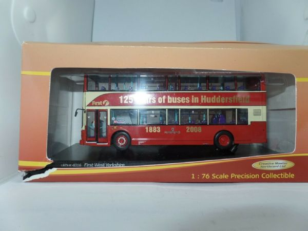 CMNL UKBUS4016 Volvo Olympian Royale Bus First West Yorkshire Huddersfield MIB